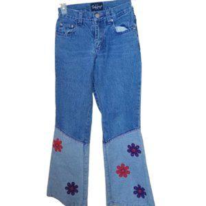 Friends Embellished Hippy Jeans Girl Size 8 LN